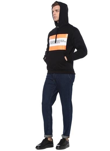 Ckj Est 1978 Sweatshirt Siyah